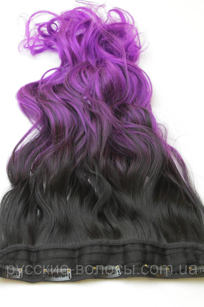 Штучні волосся омбре на заколках