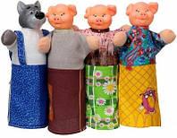 Домашний кукольный театр Три поросенка., фото 1
