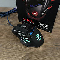 Игровая мышка IMICE X7 2400 dpi LED подсветка Gaming USB 2.0 геймерская и компьютерная
