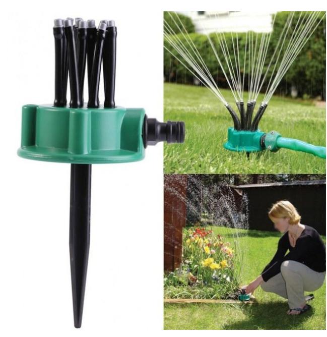 Ороситель спринклерный для полива, распылитель для газона Multifunctional Sprinkler (KG-91)