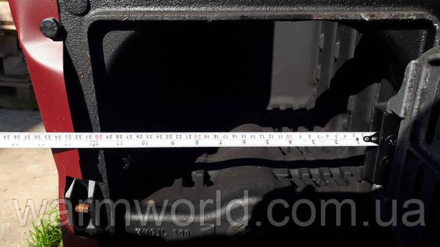 Ширина нижнего отверстия (для чистки котла) 30 см ECO HEAT 4 CA II