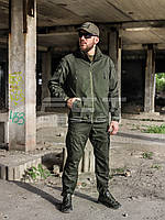 Костюм тактический Хантер Канвас стрейч на сетке