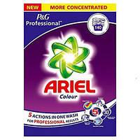 Стиральный порошок Ariel colour 5 professional actions 140 стирок (8,8 кг)