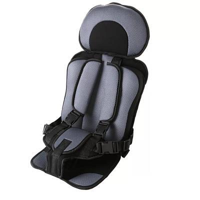 Автокресло бескаркасное детское Child Сar Seat Серое 183057