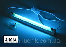Кварцова лампа озонова УФ для дезінфенкціі 30см 10W T5
