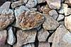 Камень окатанный песчаник Жёлтый