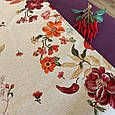Гобеленовая наволочка декоративная Цветочное поле, фото 2