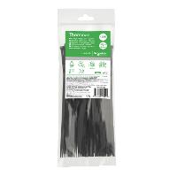 Кабельний хомут (стяжка) 200x3,6 (100 шт.) колір чорний IMT46261