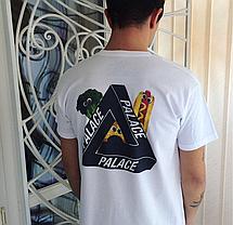 Palace Skateboards футболка белая Vegetables Broccoli Hot-dog, фото 3
