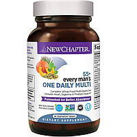 Ежедневные Мультивитамины для Мужчин 55+, Every Man's, New Chapter, 48 таблеток