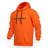 Худи мужские оранжевый BALENCIAGA с лого Т-2 ORN S(Р) 20-579-201