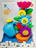 Іграшка-водоспад для ванної Квітка в горщику 9909, фото 3
