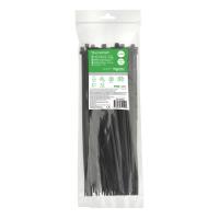 Кабельний хомут (стяжка) 300x4,8 (100 шт.) колір чорний IMT46269
