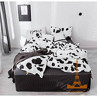 Комплект постельного белья Евро 200Х220 Сатин Хлопок 100% VIP tlg 19128 Love You