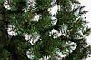 Ёлка искусственная с белыми кончиками 1,8 м  Лидия  зеленая ПВХ | ЛІДІЯ ЗЕЛЕНА З БІЛИМИ КІНЧИКАМИ, фото 3