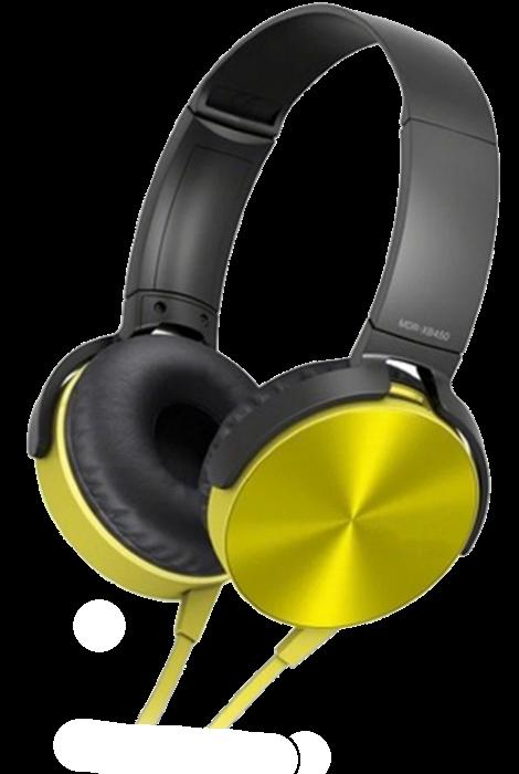 Беспроводные Bluetooth наушники XB450BT - Bluetooth гарнитура / FM радио / MicroCD карта