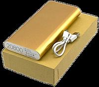 Портативний зарядний пристрій Power Bank Mi 20800mAh, універсальна батарея, зовнішній акумулятор, повер банк, фото 1