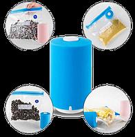 Вакуумний пакувальник для їжі Vacuum Sealer Always Fresh з вакуумними пакетами. Пакувальник продуктів. Вакууматор.