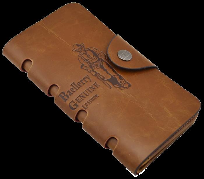 Мужской кошелек клатч портмоне барсетка Baellerry Genuine Leather COK10