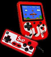 Игровая приставка SUP Game Box 400в1 - Приставка Dendy для двух игроков, с джойстиком, с подключением к ТВ, фото 1