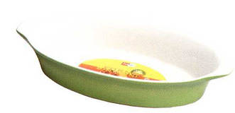 Форма овальная из жаропрочного фарфора 25 см Forno