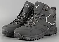Ботинки мужские серые Bona 780R-6 Бона Размеры 41 42 43 44, фото 1