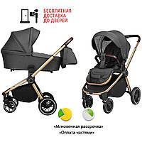 + МОСКИТНАЯ СЕТКА Универсальная коляска 2в1 с рождения CARRELLO Epica CRL-8510 (Цвета в наличии)