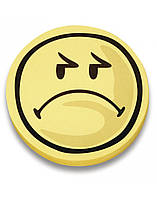 Карточки-смайлы Magnetoplan Smiley Negative Set  Ø100 мм 100 шт