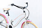Велосипед дитячий Beach Cruiser Cossack 24 Nexus 3 White-Pink, фото 2