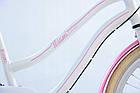 Велосипед дитячий Beach Cruiser Cossack 24 Nexus 3 White-Pink, фото 5