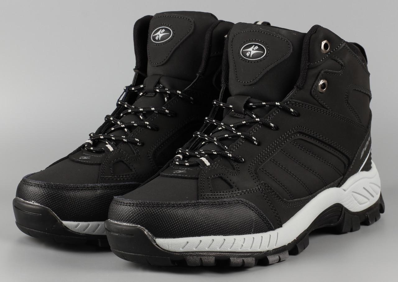 Ботинки мужские черные Bona 778D-6 Бона Размеры 41 42 43 45 46