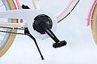Велосипед дитячий Beach Cruiser Cossack 24 Nexus 3 White-Pink, фото 9
