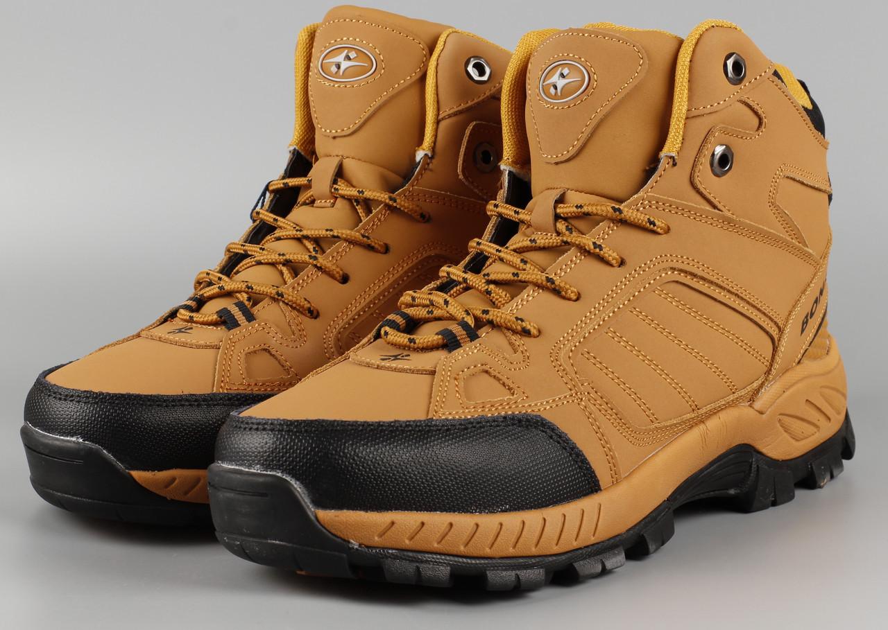 Ботинки мужские рыжие Bona 778A-6 Бона Размеры 41 42 43 44 45 46
