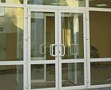 Метало пластикові Двері, фото 2