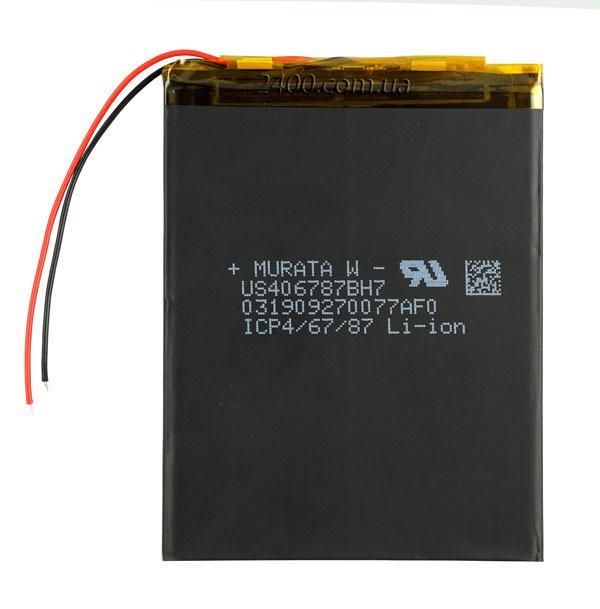 Литий-полимерный аккумулятор 3600mAh 406785 мм 3.7v MURATA – с контроллером