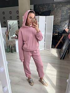 Костюм женский спортивный трикотажный с брюками AniTi 414, розовый