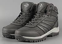 Ботинки унисекс серые Bona 779F-2-6 Бона женские Размеры 36 38 41, фото 1