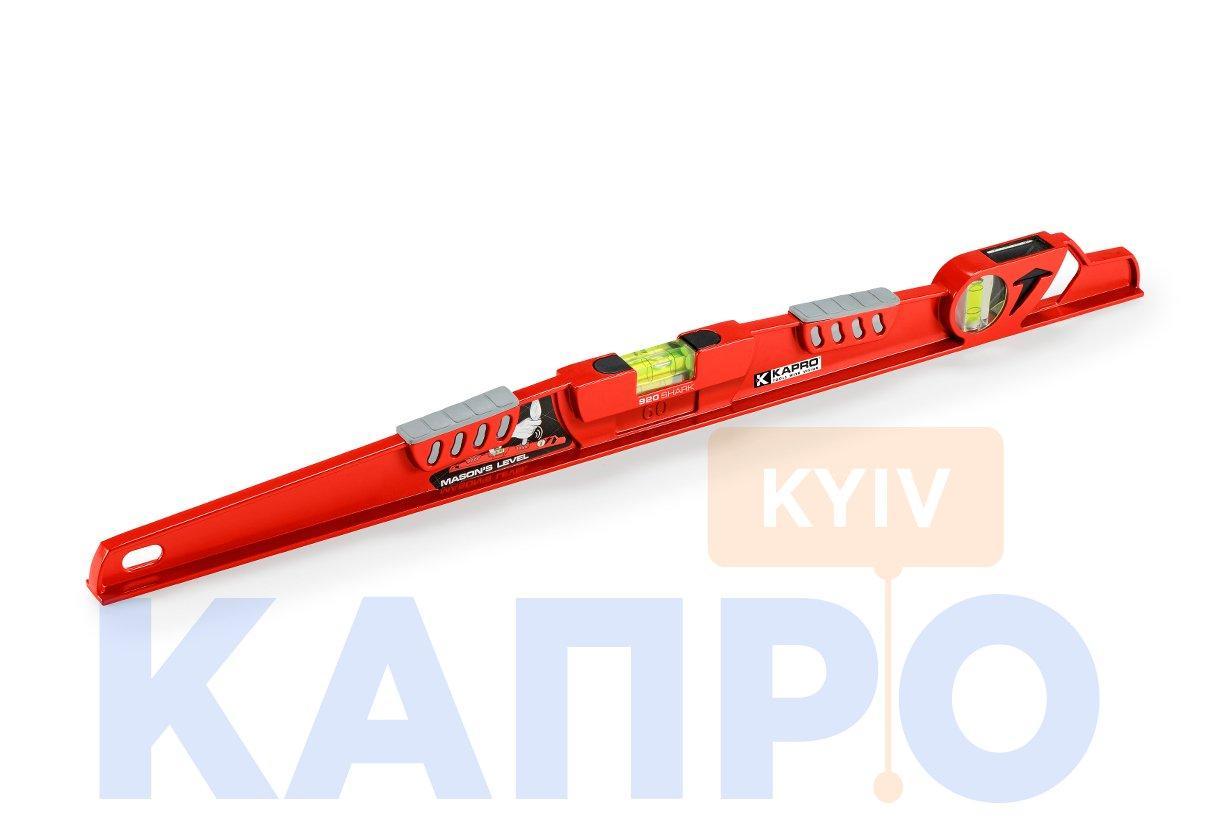 Уровень строительный 600мм KAPRO 920-10-60 Shark