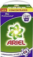 Стиральный порошок Ariel 5 professional actions 140 стирок (9,1 кг)