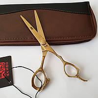 """Профессиональные ножницы для стрижки волос kasho 6,0"""", фото 1"""