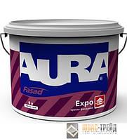 TM  AURA Fasad EXPO - акриловая краска для наружных и внутренних работ (ТМ Аура Фасад Экспо),10 л.