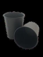 Стакан паперовий 110 мл, чорний (50 шт в рукаві) 061410024