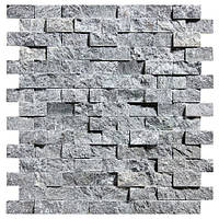 Мозаика талькомагн. Tulikivi 280х300х8-14мм (сколотая поверх-ть) для отделки саун