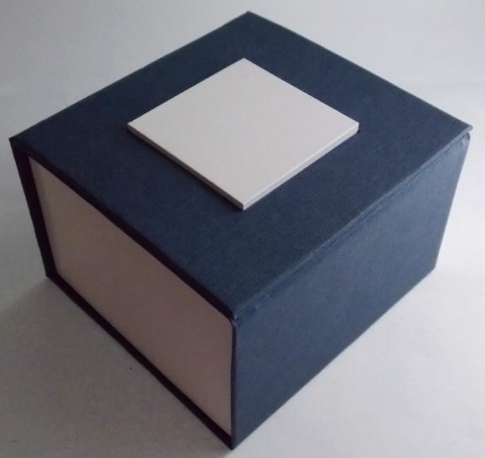 Подарочный футляр для часов синий