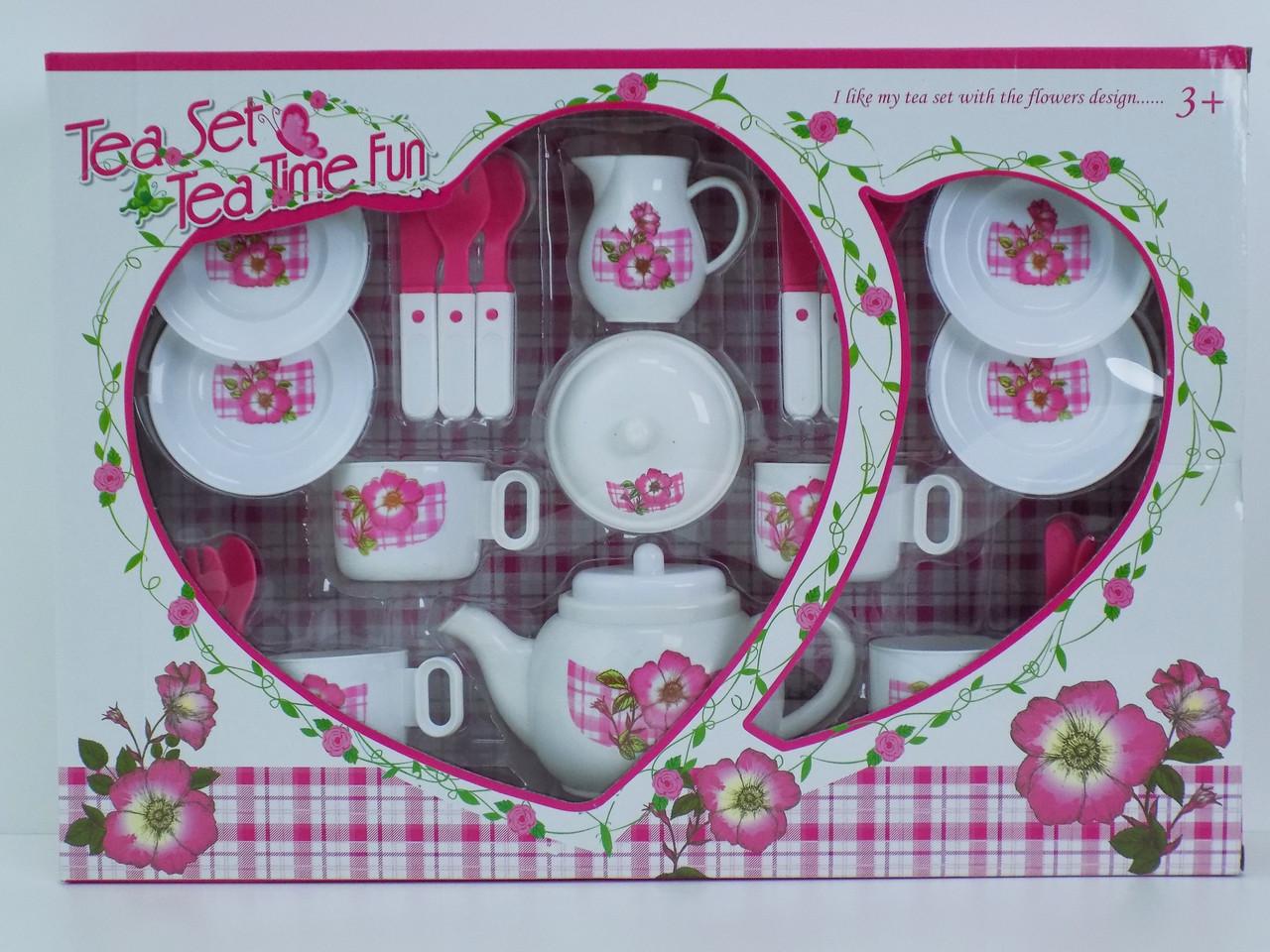 Іграшковий посуд чайний сервіз