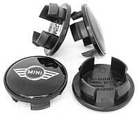 Колпачки для оригинальных дисков Mini-cooper (черные)