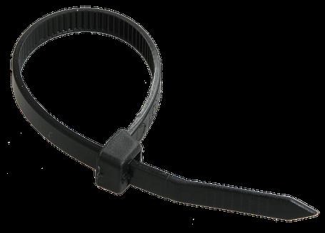 Хомут кабельный Хкн 4,8х400мм нейлон черный (100шт) IEK, фото 2