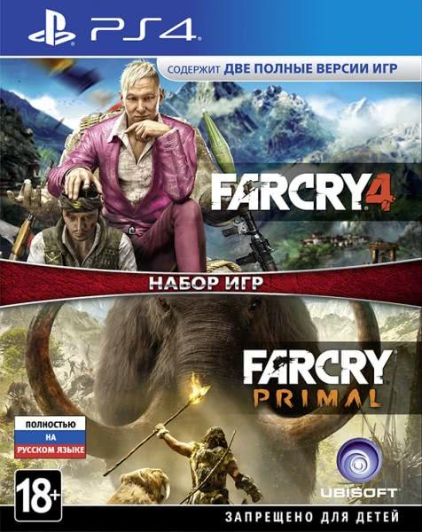 Far Cry 4 + Far Cry Primal (російська версія) PS4