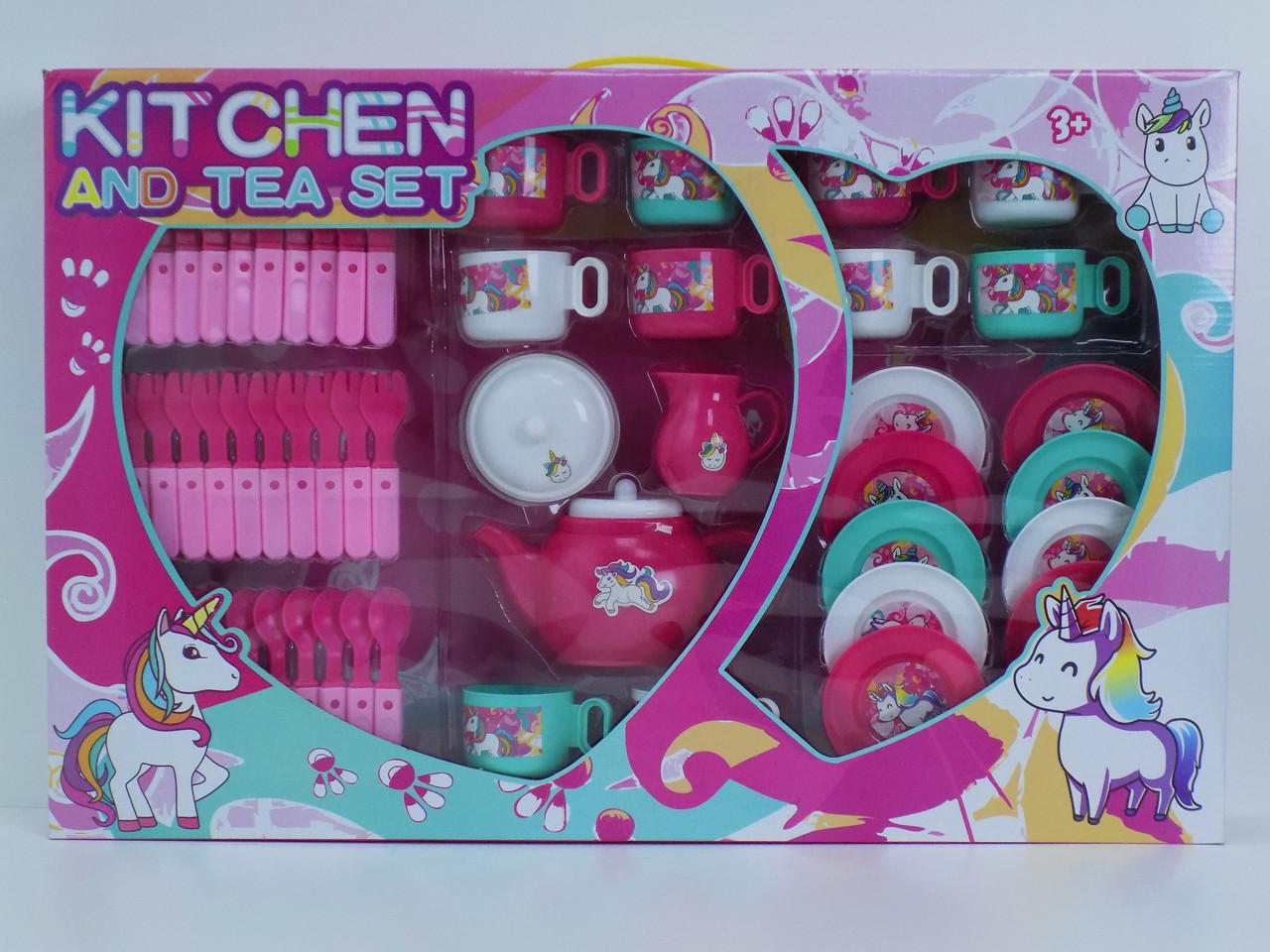 Чайный набор игрушечная посуда