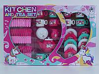 Игрушечная посуда чайный набор детский